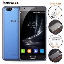 Original blackview mt6737 a9 pro android 7.0 4g smartphone quad núcleo Celular 5.0 polegada 2 GB + 16 GB Dual celular Câmera Traseira telefone