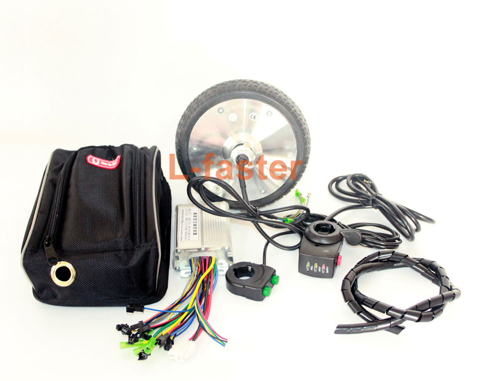 6.5 Inch Brushless Hub Motor Kit 36V 150W E-scooter Motor Wheel Kit With  disply