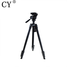 High Quality Aluminum Weifeng WT 6724 Tripod with Damped Pan Head Hot Selling
