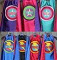 Полное имя-подарок на день рождения мальчика-Персонализированная накидка супергероя-любое имя-много цветов-вечерние супергероя