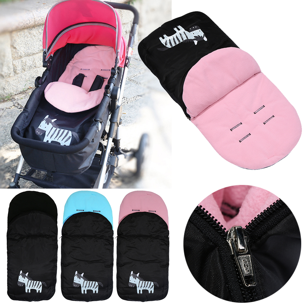 Baby Sleeping Bag Foot Cover Baby Stroller Socks Thickened Feet Bedding Warm Pad Mat for kid