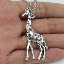 Lovely Giraffe Love Pendant Necklace