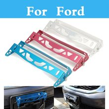 Power Racing License Plate Frames Tag Holder For Ford Focus RS Focus ST Freestyle Fiesta Fiesta ST Five Hundred Flex