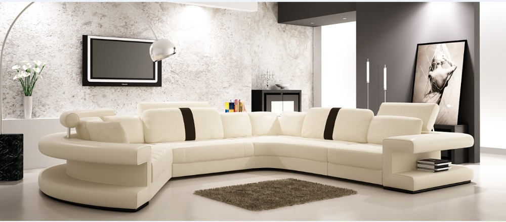Modern Corner Sofas Design Leather Sofa Direct Factory Set Living Room