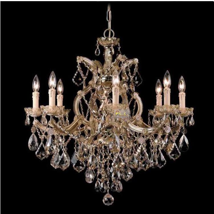 Phube Lighting Maria Theresa K9 Crystal Chandelier Lighting Gold / Chrome Chandelier Light Lighting +Free shipping!