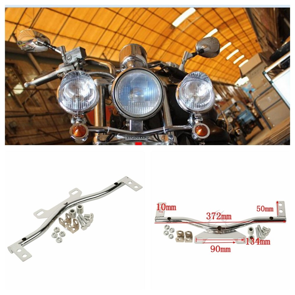 Chrome Passing Light Bar For Honda VTX 1300 C R S RETRO Cruiser Turn Signals magformers r c cruiser set 707003 63091