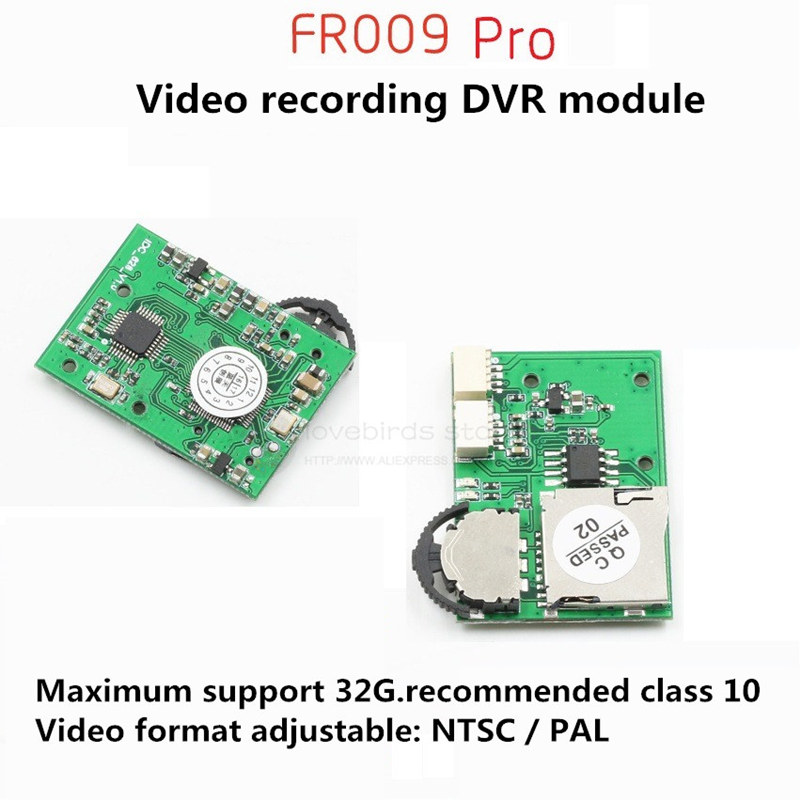 FR009 Pro micro DVR Module video capture module for DIY FPV cross racing indoor drone room quadcopter f04305 sim900 gprs gsm development board kit quad band module for diy rc quadcopter drone fpv