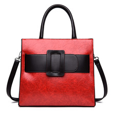 Womens  2019 New Fashion Baitao Large Capacity Single Shoulder Slant Simple Style Atmospheric Handbag