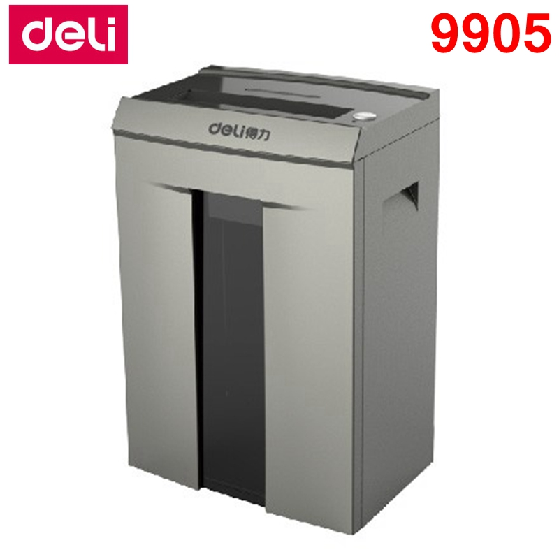 [ReadStar] Deli 9905 défibreur de papier électrique bureau 20L volume 220-230VAC 200 W 10 pièces arrêt automatique type de tiroir de défibreur de papier