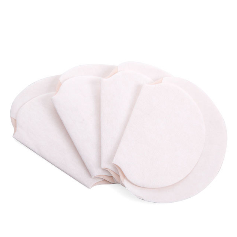 25Pcs Disposable Armpits Sweat Pads Dress Sweat Perspiration Underarm Pads Men Women Summer Deodorants Absorbent Cotton Pads 15