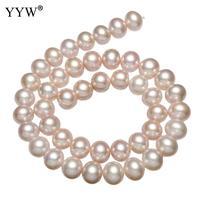 10 11mm Natural Potato Purple Freshwater Pearl Beads Strand 15.7 for DIY Women Elegant Necklace Bracelet Jewelry Making