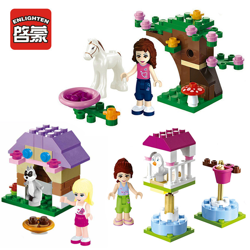 Girl Block Friends Series Building Blocks Princess Figures Compatible With legoINGlys Friends For Lepine Bricks Toy playmobil