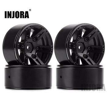 4PCS Metal Wheel Rim 1.9 Inch BEADLOCK for 1/10 RC Rock Crawler Axial SCX10 90046 AXI03007 TAMIYA CC01 D90 TF2 Traxxas TRX-4 1