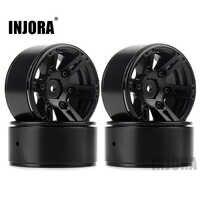 4PCS Metal Wheel Rim 1.9 Inch BEADLOCK for 1/10 RC Rock Crawler Axial SCX10 90046 AX103007 TAMIYA CC01 D90 TF2 Traxxas TRX-4