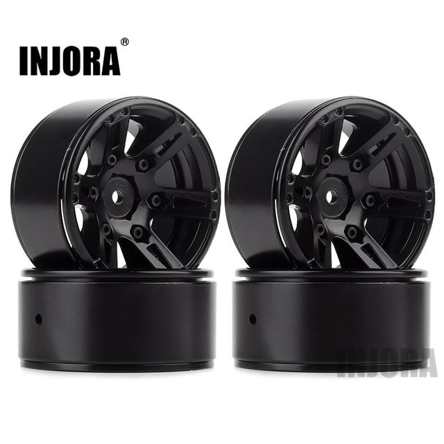4PCS Metal Wheel Rim 1.9 Inch BEADLOCK for 1/10 RC Rock Crawler Axial SCX10 90046 AXI03007 TAMIYA CC01 D90 TF2 Traxxas TRX 4