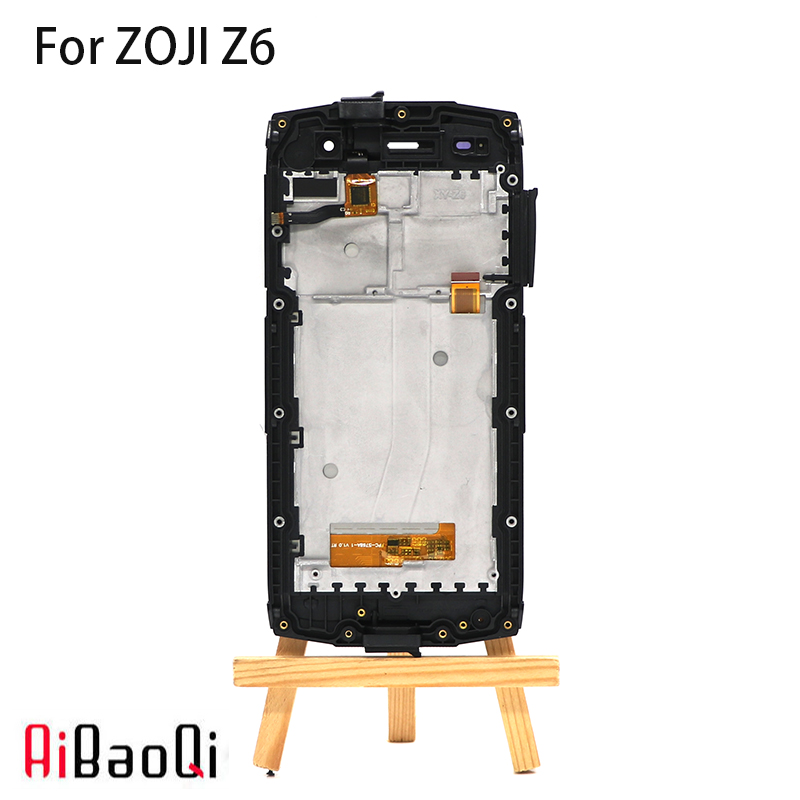 New Original 4.7 inch Touch Screen+1280X720 LCD Display+Frame Assembly Replacement For Homtom ZOJI Z6 MTK6580 Android 6.0-in Mobile Phone LCD Screens from Cellphones & Telecommunications    1