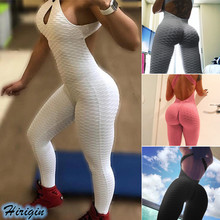 Summer Jumpsuits HOT Women Casual Solid Sleeveless Backless Skinny Fitness Sports Size S-L