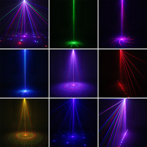 Image 5 - ALIEN Remote USB 8 Patterns RGB Mini Laser Projector Stage Lighting Effect Light Car Party DJ Disco Club Xmas Family Light Show