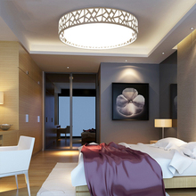 27CM 24W Acryle Round Circular Celling light AC90-260V 3 Color Switchable Warm White/White/Cold White Lampara For Living Room