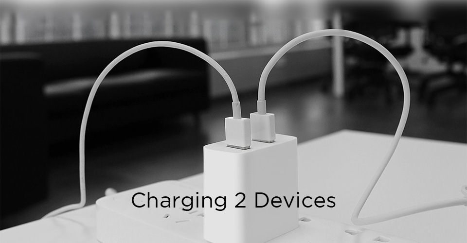 Image 5 - Original Xiaomi USB Charger 2 Port Quick Charge QC3.0 18 20W Travel Charger-in Mobile Phone Chargers from Cellphones & Telecommunications