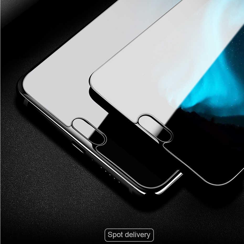 Anti Gores untuk Huawei P8 P9 P10 P20 Lite P8 Lite 2017 Pelindung Layar Kaca untuk Kehormatan 7 8 9 tempered Glass Pelindung Film