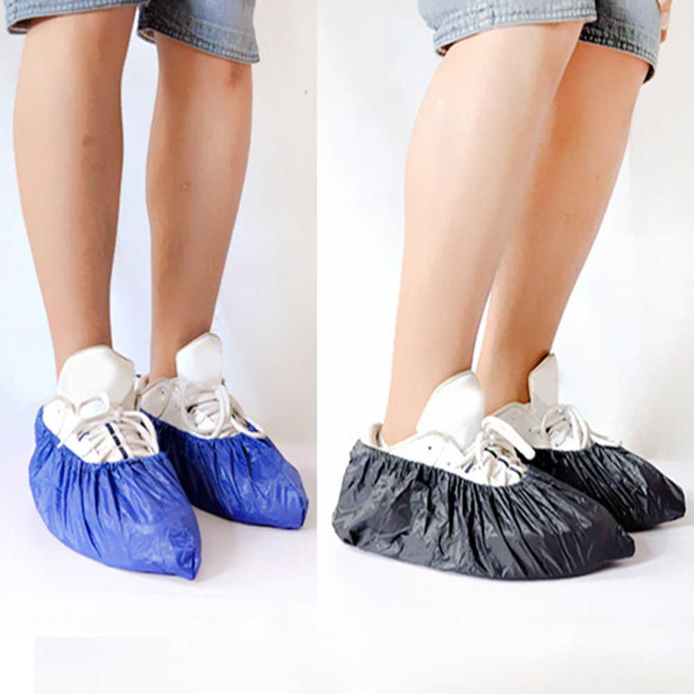 2019 Hot Sale Sepatu Cover Reusable Unisex Rain Overshoes Tahan Air Anti-Slip Penutup Sepatu Boot Hujan Hari Aksesoris Sepatu