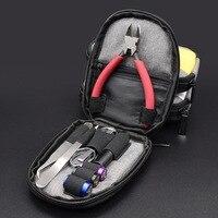 LEIQIDUDU YEP Vapor Tool Bag Diy Tool kit For e cigs RDA RBA Electronic Cigarette Atomizer Coil Designer Yep vapor kits