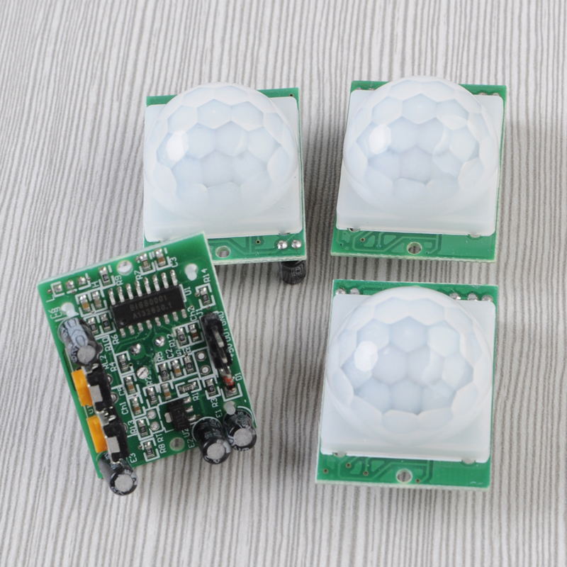 5Pcs HC-SR501 PIR Pyroelectric Infrared Motion Sensor Detector Module for Arduino