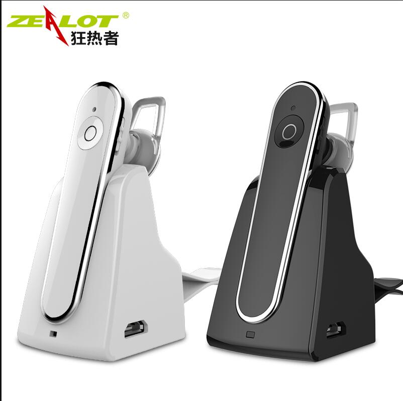 HOT zealot E5 Wireless bluetooth headset car driver font b handsfree b font earphones music headphones
