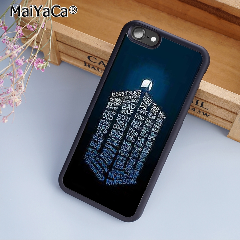 Phone Bags & Cases Maiyaca Cool Doctor Who Phone Case Cover For Iphone 5s Se 6 6s 7 8 Plus 10 X Samsung Galaxy S6 S7 S8 Edge Note 8 Pure Whiteness Cellphones & Telecommunications