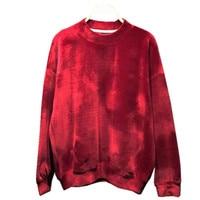 cbd98d76a8f6b3 Fashion Vintage Autumn Winter Long Sleeve Loose Boyish Women Sweatshirts  Hoodies O Neck Velour Velvet Hoodies