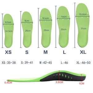 Image 3 - Ortopedik ayakkabı tabanlığı tabanı ekler düz ayak kavisi destek ayak Vargus Valgus düzeltici ayakkabı taban pedi Inlegzolen Eva