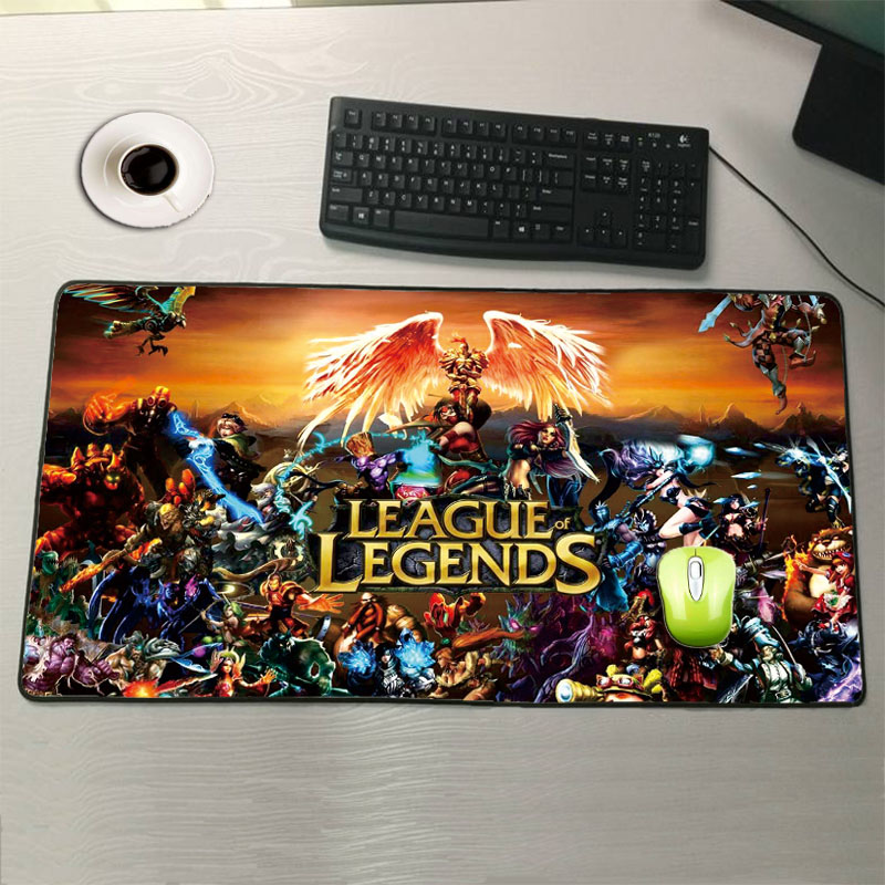 Mairuige Shop League of Legends Large Mouse Pad 900x400mm Notbook Computer Mousepad Best Smouse Mats for Cs Go DOTA Gamer Gift