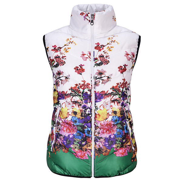 New-2016-Fashion-Winter-Vest-Women-Cotton-Down-O-Neck-Printed-Flowers-Women-Jacket-Vest-Coat (4)