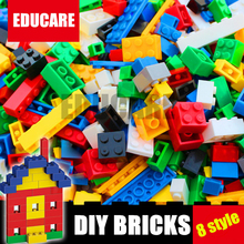 1000 Pcs Building Bricks Set City DIY Creative Brick ToysBuilding Block Bulk Bricks Compatible With Lego For Child Educational  купить недорого в Москве