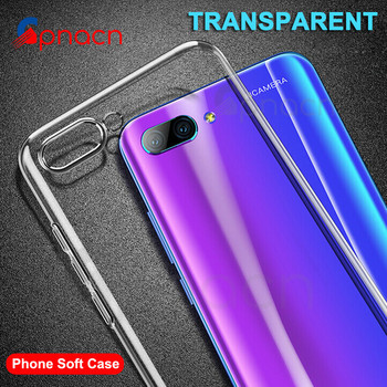 Ultra Thin Soft Transparent TPU Case For Huawei Honor 10 9 Lite V10 V20 Silicone Full Cover For Honor 8 Lite V9 Play Cases Bags Half-wrapped Cases