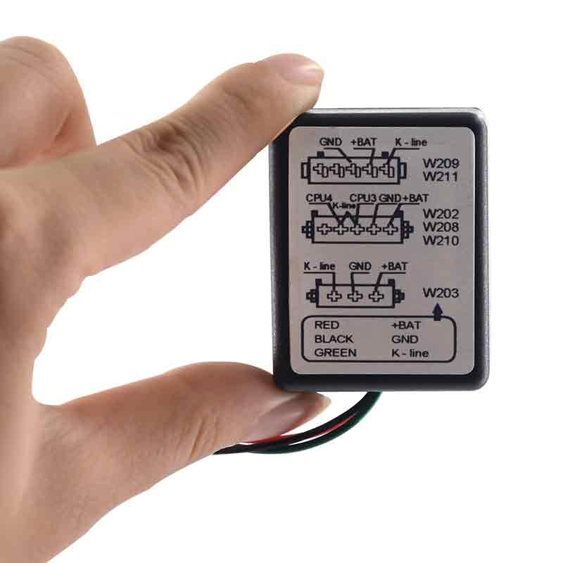 MB ESL Emulator for mercedes for W202, W208, W210, W203, W211, W639 new seat occupation sensor emulator for mercedes benz w220 w163 w210 w203 w168 free shipping simple installation for mb type 6