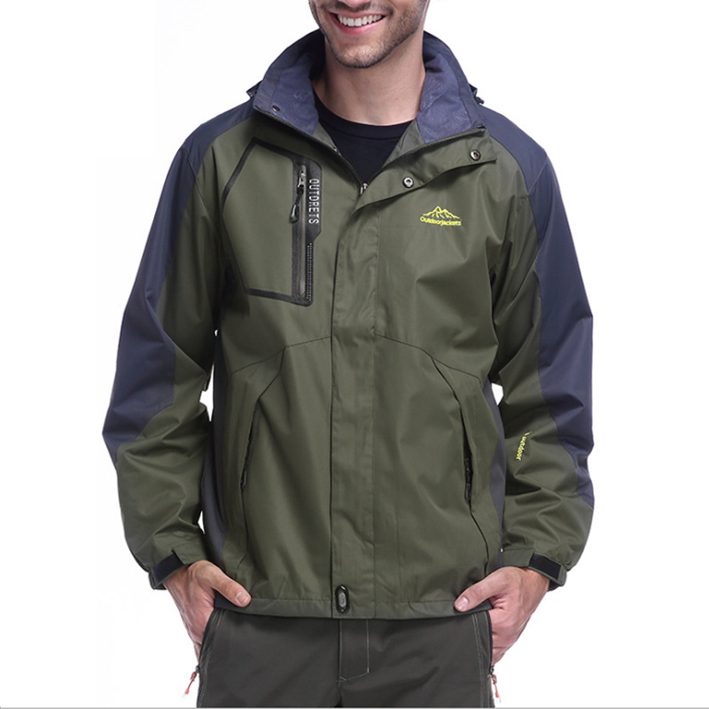 L 6xl autumn men outdoor outdoor waterproof jacket for Waterproof fishing jacket