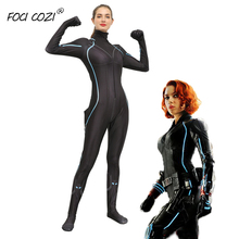 The Avengers Party clothes Black Widow Costume/Cosplay Endgame Halloween Costume/Jumpsuit for women adult