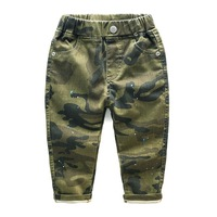New Baby Boys Pants Gaueey Kids Trousers Spring Autumn Children Pants Casual Camouflage Children Clothing 2 8T Kids Leggings