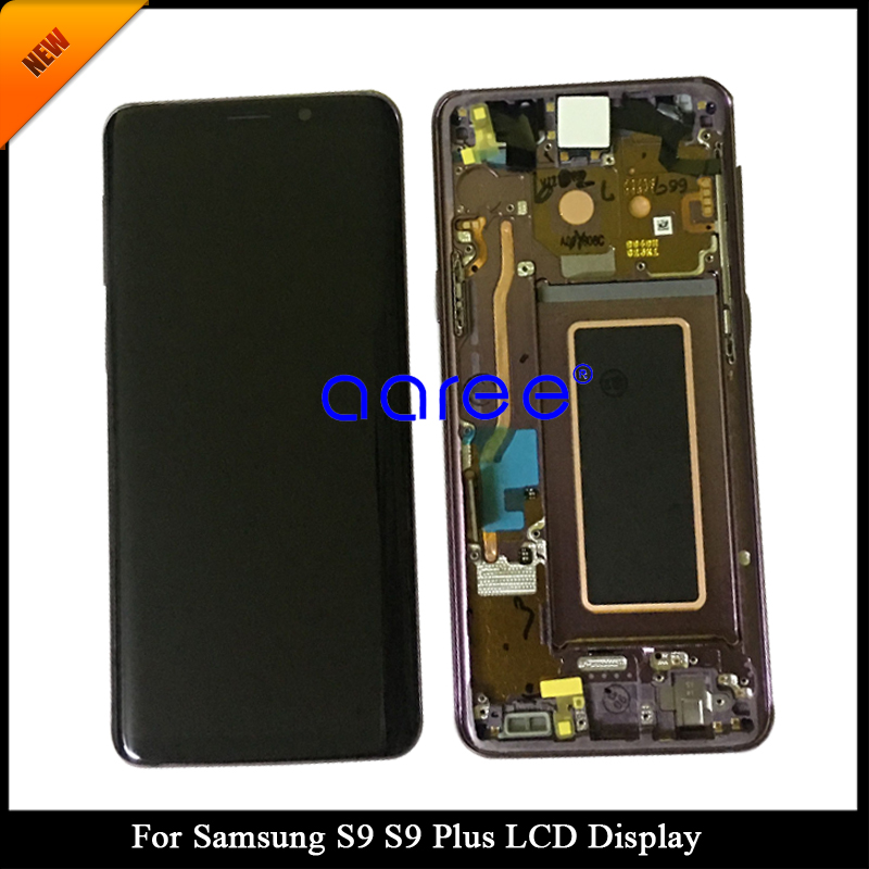100 Super AMOLED LCD For Samsung S9 LCD S9 G960 LCD For Samsung S9 PLUS Display