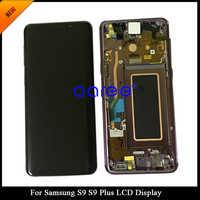 100% Super AMOLED LCD Für Samsung S9 LCD S9 G960 LCD Für Samsung S9 PLUS Display LCD Bildschirm Touch Digitizer montage
