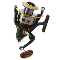 DK 1000 6000 11 Bearing Balls Durable Spining Fishing Reels High Quality Foldable Portable Exchangable Reel