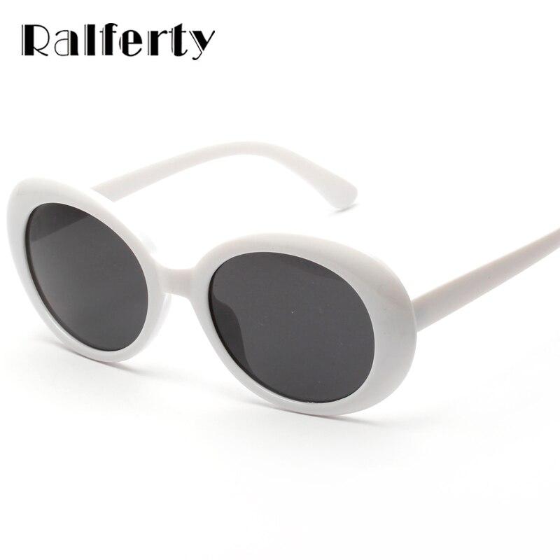 Ralferty Vintage Oval Sunglasses s