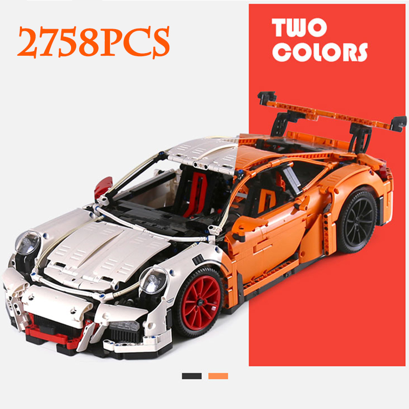 Lepin 20001 Technic 20001B Super Racing Car Compatible Legoinglys Building Blocks Sport Car 42056 DIY Designer Toy Children Gift
