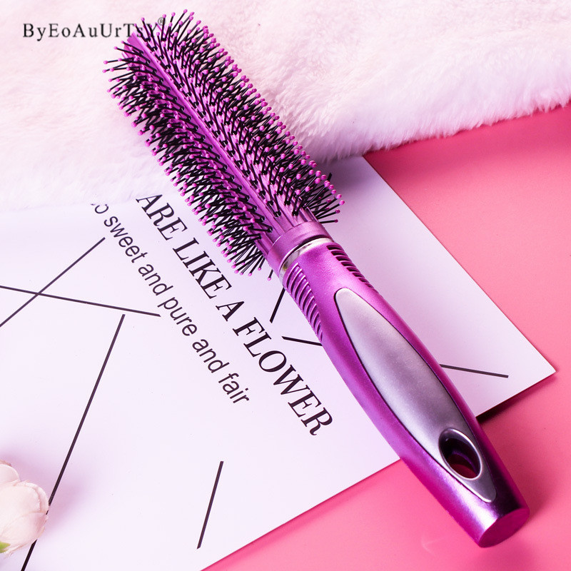 3 Shapes Hair Comb Scalp Massage Comb Hairbrush Bristle& Women Wet Curly Hair Brush for Salon Hairdressing Styling Makeup Tools 4
