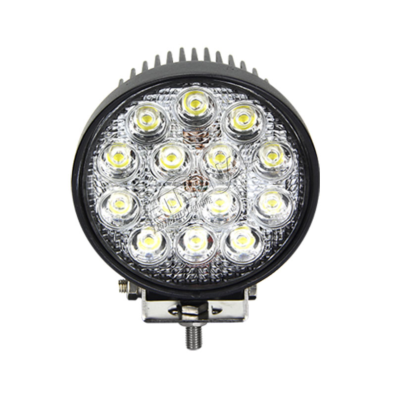 20pcs 42W led work light driving spot flood lamp for car automotive 4x4 offroad ATV UTV motorcycle truck trailer tractors in Light Bar Work Light from Automobiles Motorcycles