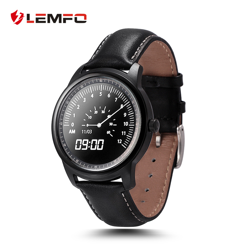 2017 New Arrival Lemfo LEM1 Smart Watch MTK2502 Bluetooth Smartwatch for Xiaomi iphone 6 6s 7 plus Android IOS no 1 d5 bluetooth smart watch phone android 4 4 smartwatch waterproof heart rate mtk6572 1 3 inch gps 4g 512m wristwatch for ios