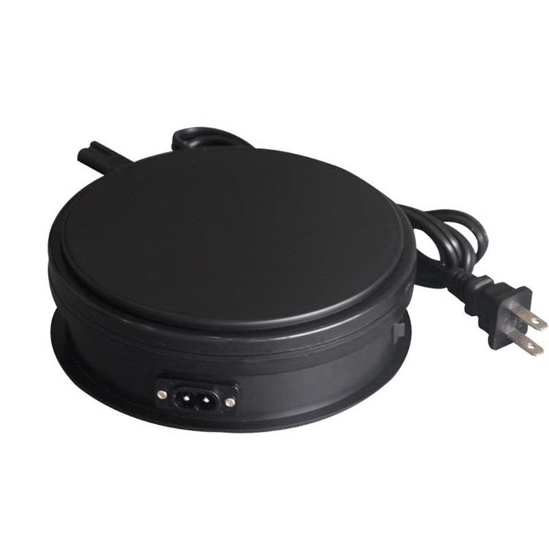 Merchandise Display Base 360 Degree Electric Rotating Turntable For Photography 25kg Capacity Automatic Revolving Platform
