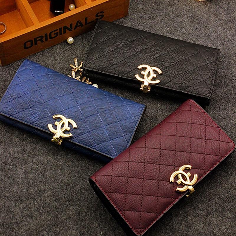 Hasp Long Designer Women Wallets 2016 Brand Fashion Ladies ...
